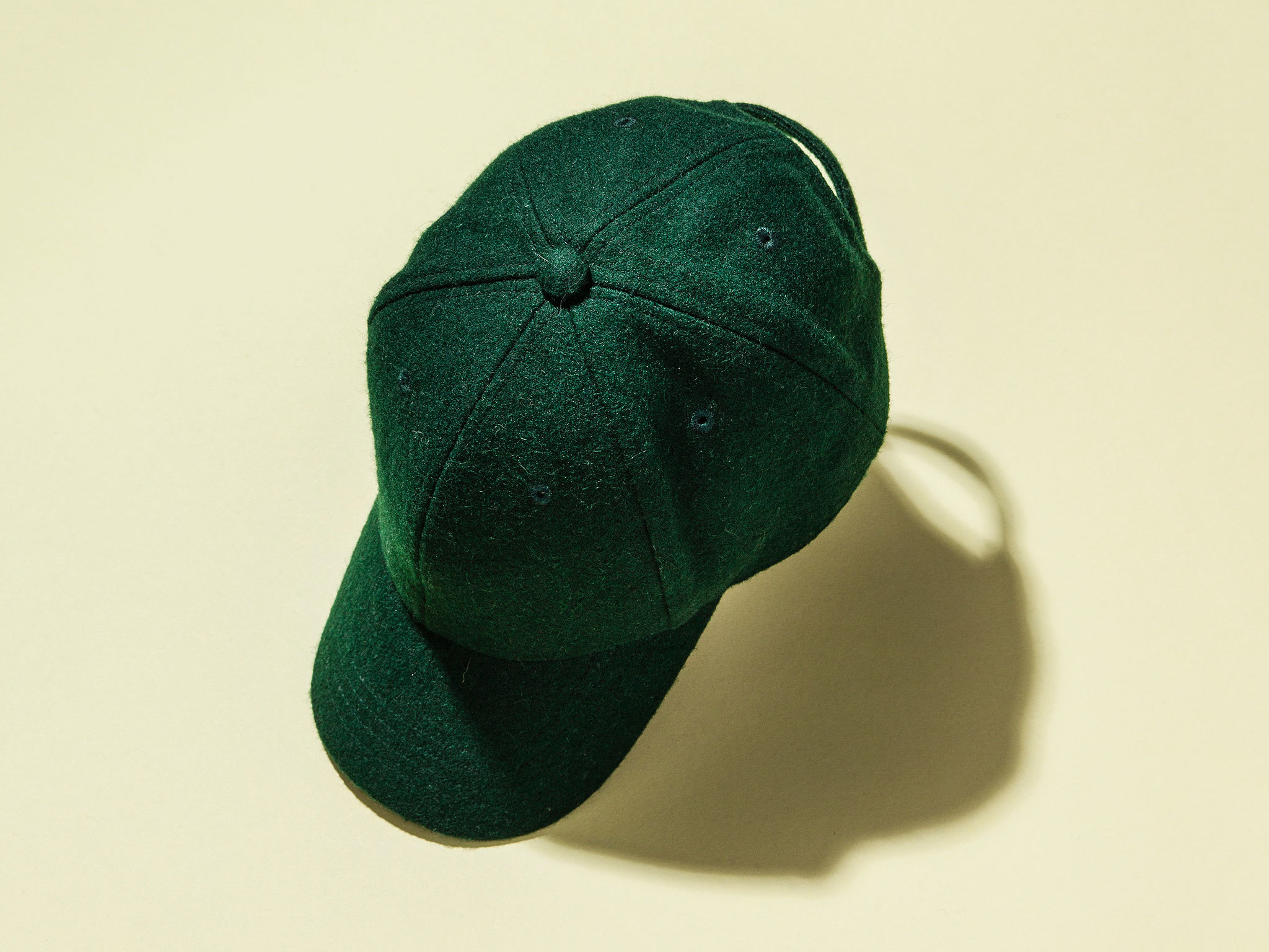 Felt baseball cap by Whistles