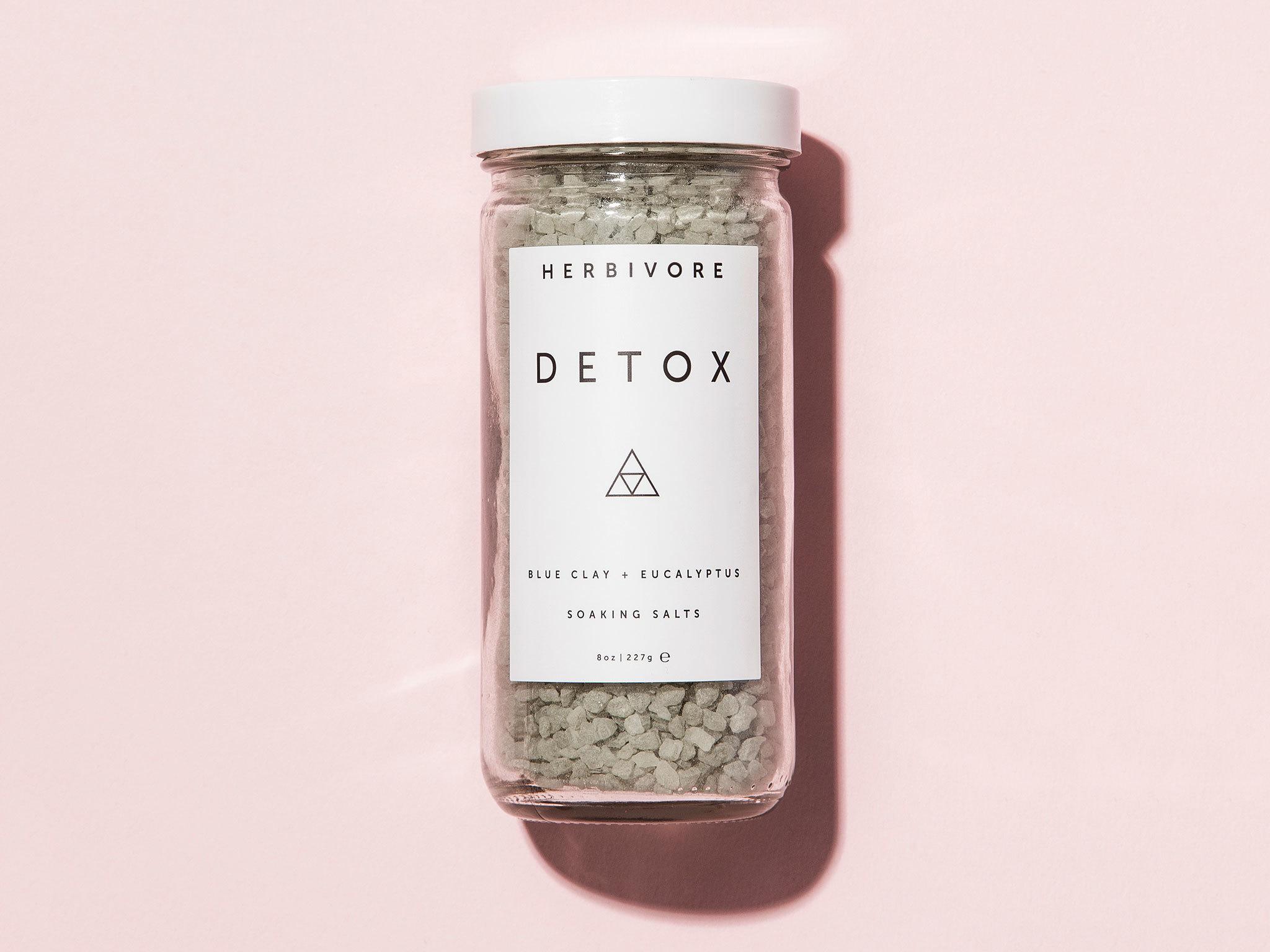 Detox bath salts by Herbivore