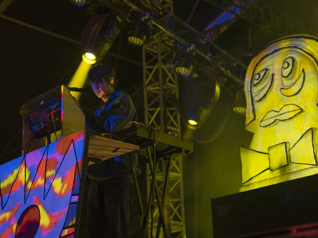 Animal Collective en el Corona Capital