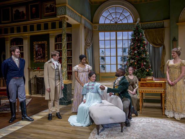 Miss Bennet Christmas At Pemberley.Miss Bennet Christmas At Pemberley Theater In Chicago