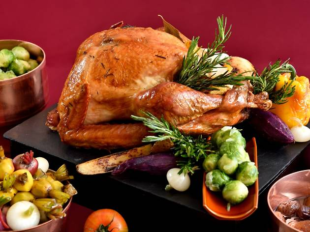 Thanksgiving turkey at Okura Prestige