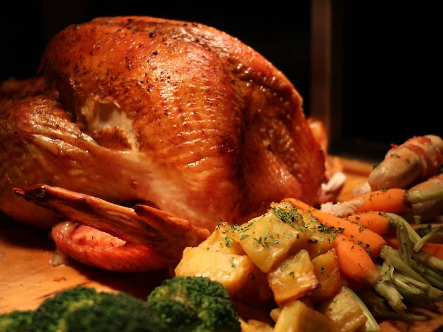 Thanksgiving turkey at JW Marriott
