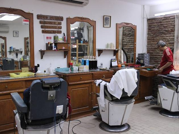 three old school barber shops in singapore