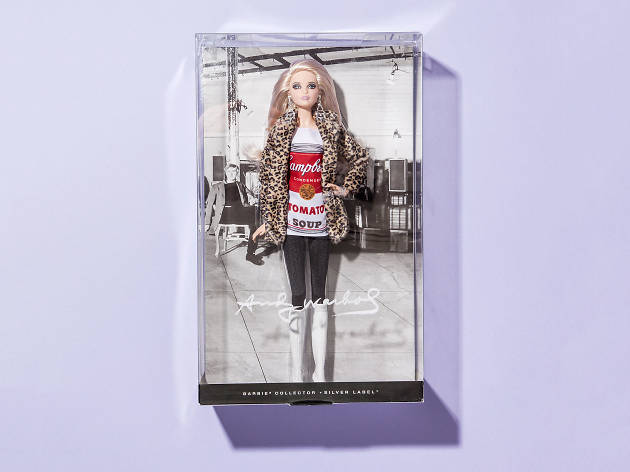Andy Warhol Barbie
