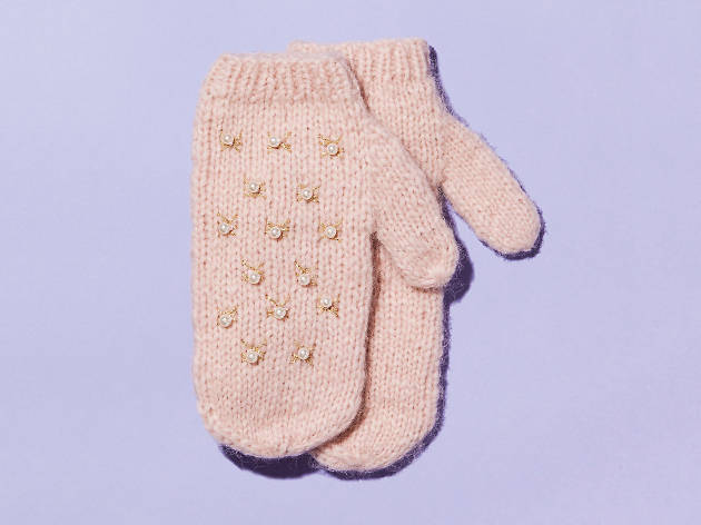 Embellished mittens by Wool and the Gang & Other Stories
