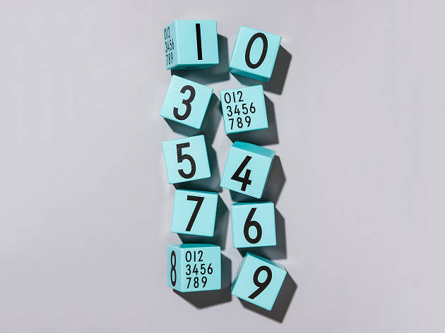 Number blocks by Design Letters