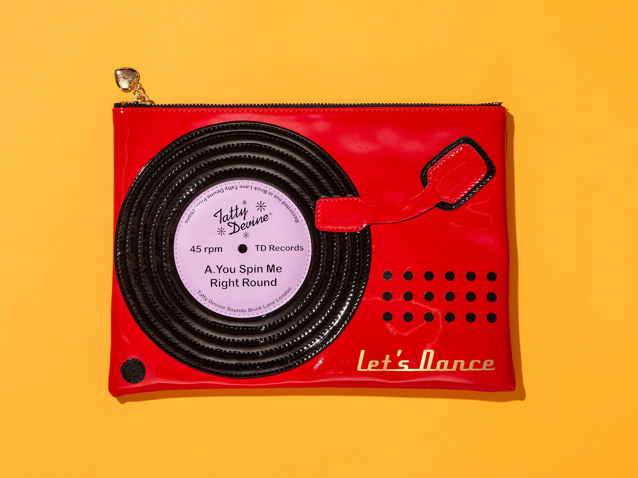 Christmas gift guide: music - Record player pouch
