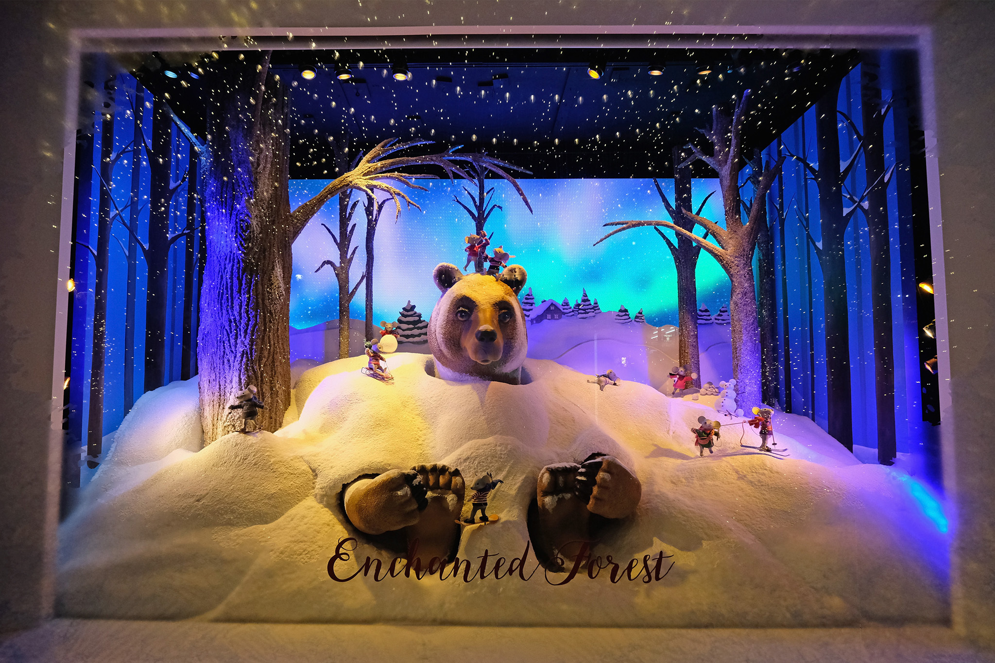 Christmas Window.The Magic Of Department Store Christmas Window Displays