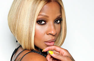 Mary J Blige portrait