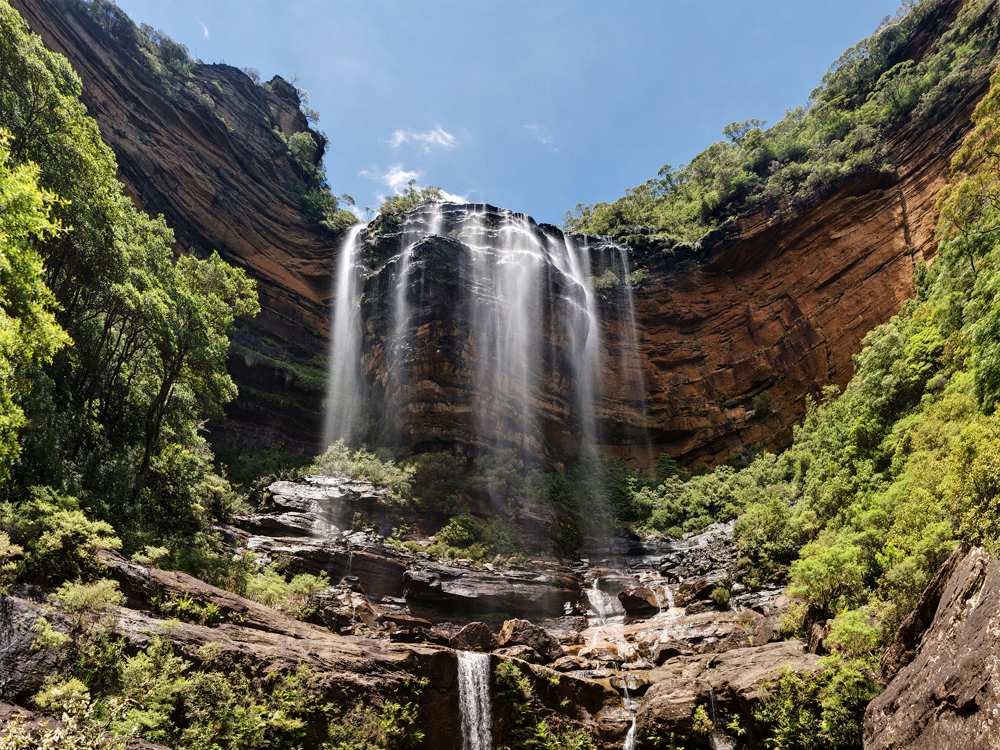 Find the best waterfalls near Sydney