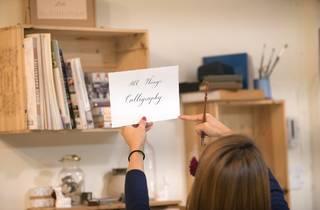 Calligraphy Workshop Brunch