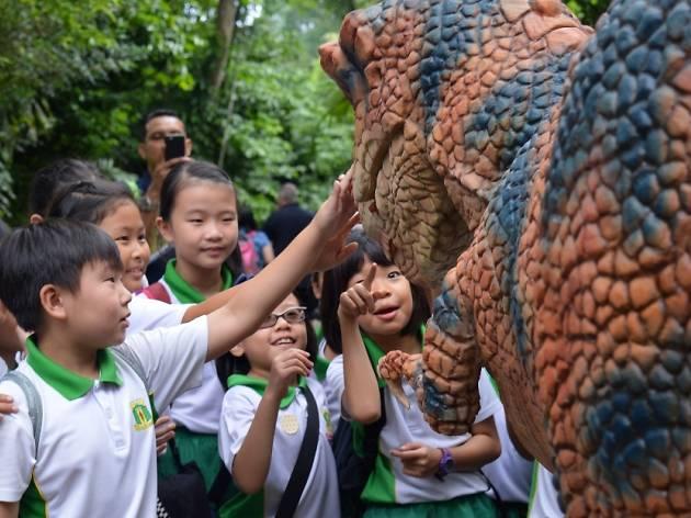 zoo-rassic park dinosaur and kids