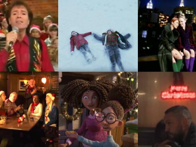 Christmas single montage