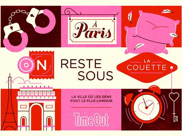 Paris est la ville où les gens font le plus l'amour