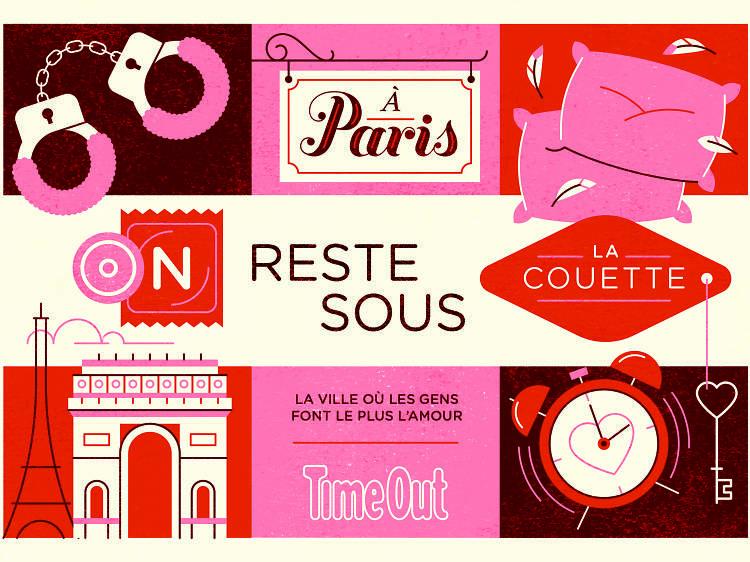 Paris est la ville où les gens font le plus l'amour d'après notre sondage