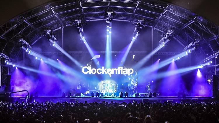 Clockenflap 2015 stage photo