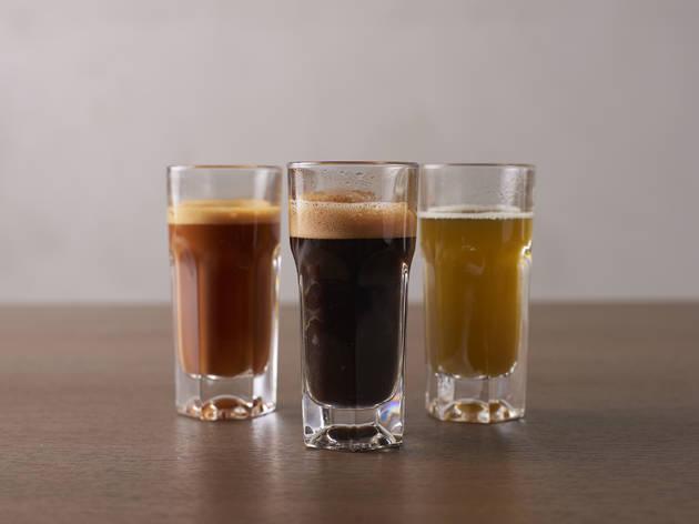 カフェインチャージする。