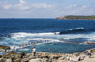 Mahon Pool at the northern end of Maroubra Beach