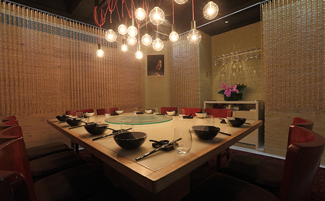 Spice Temple dining room