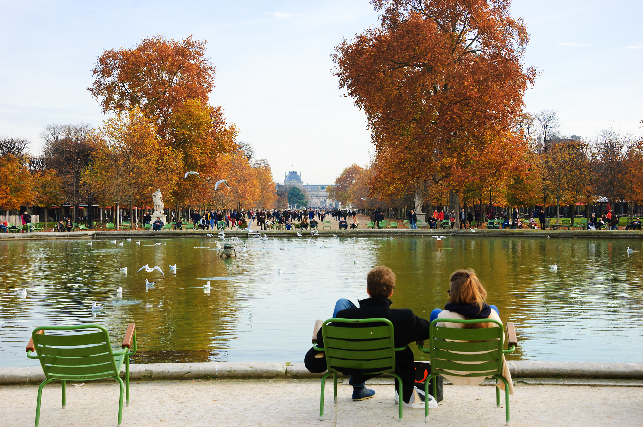 Grab a seat at Jardin des Tuileries