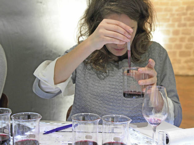 Make wine where King Louis XV used to keep his stash cool