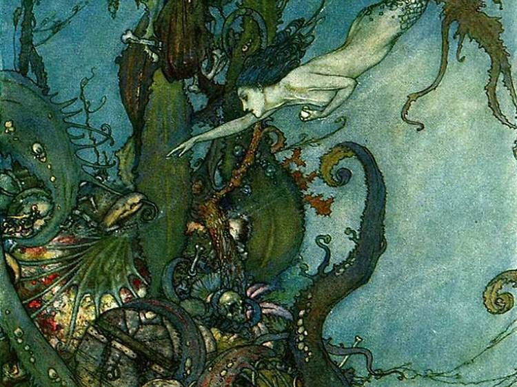 Les contes d'Andersen illustrés par Dulac