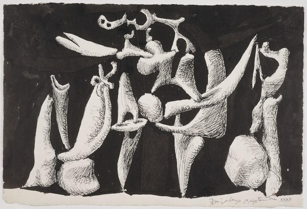 Pablo Picasso - La Crucifixion