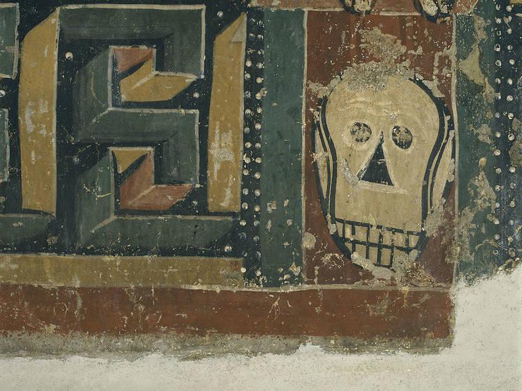 1934, Picasso visita la colección del Museo Nacional