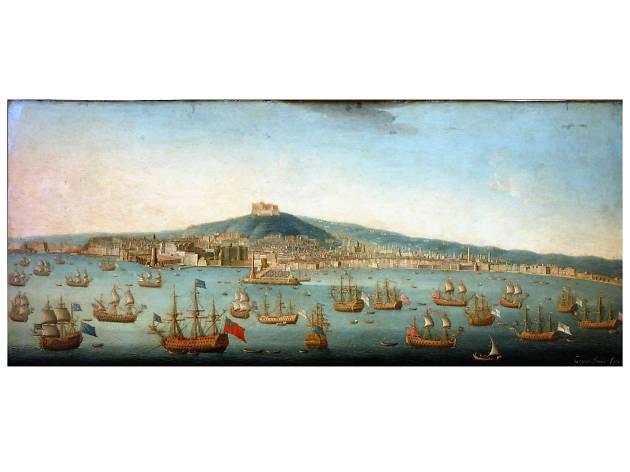 Admiral_Byng Fleet_at_Naples.