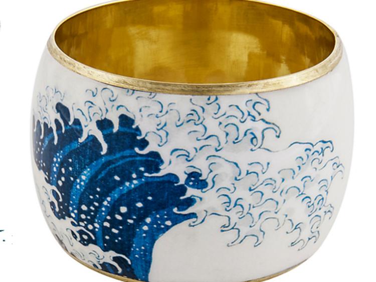 Un bracelet d'inspiration Hokusai