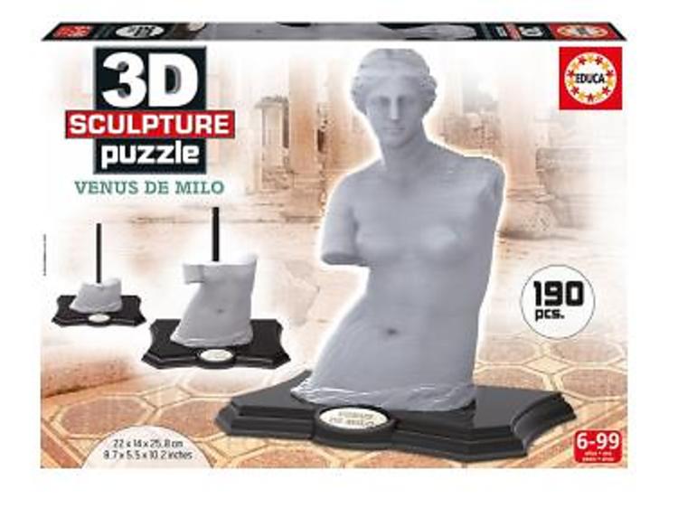 Un puzzle 3D de la Venus de Milo