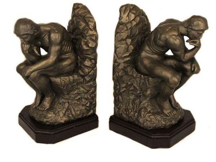 Des serre-livres 'Le Penseur' de Rodin