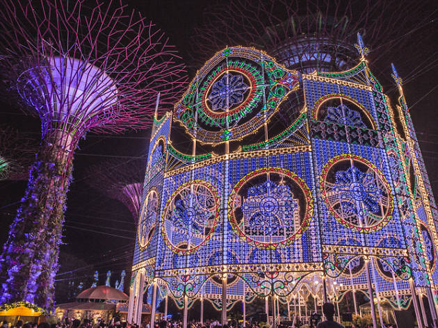 The best places to see Christmas lights and decorations in Singapore