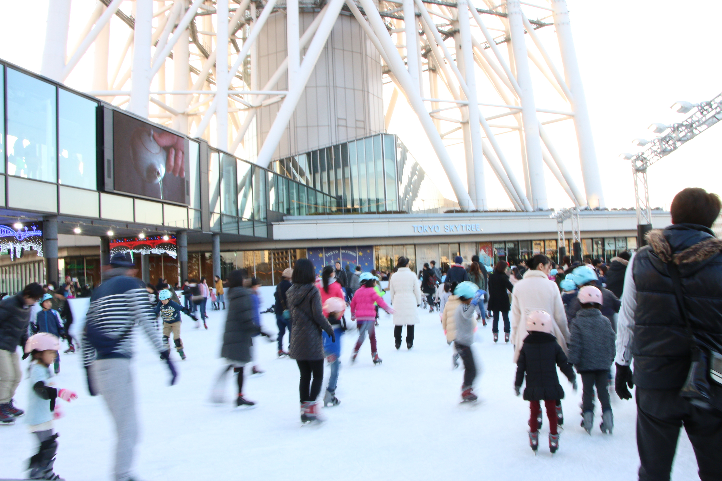 TOKYO SKYTREE TOWN® ICE SKATING PARK