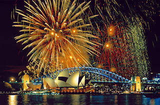 Sidney'de Yılbaşı
