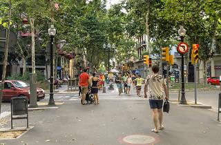 Rambla del Poblenou, Barcelona