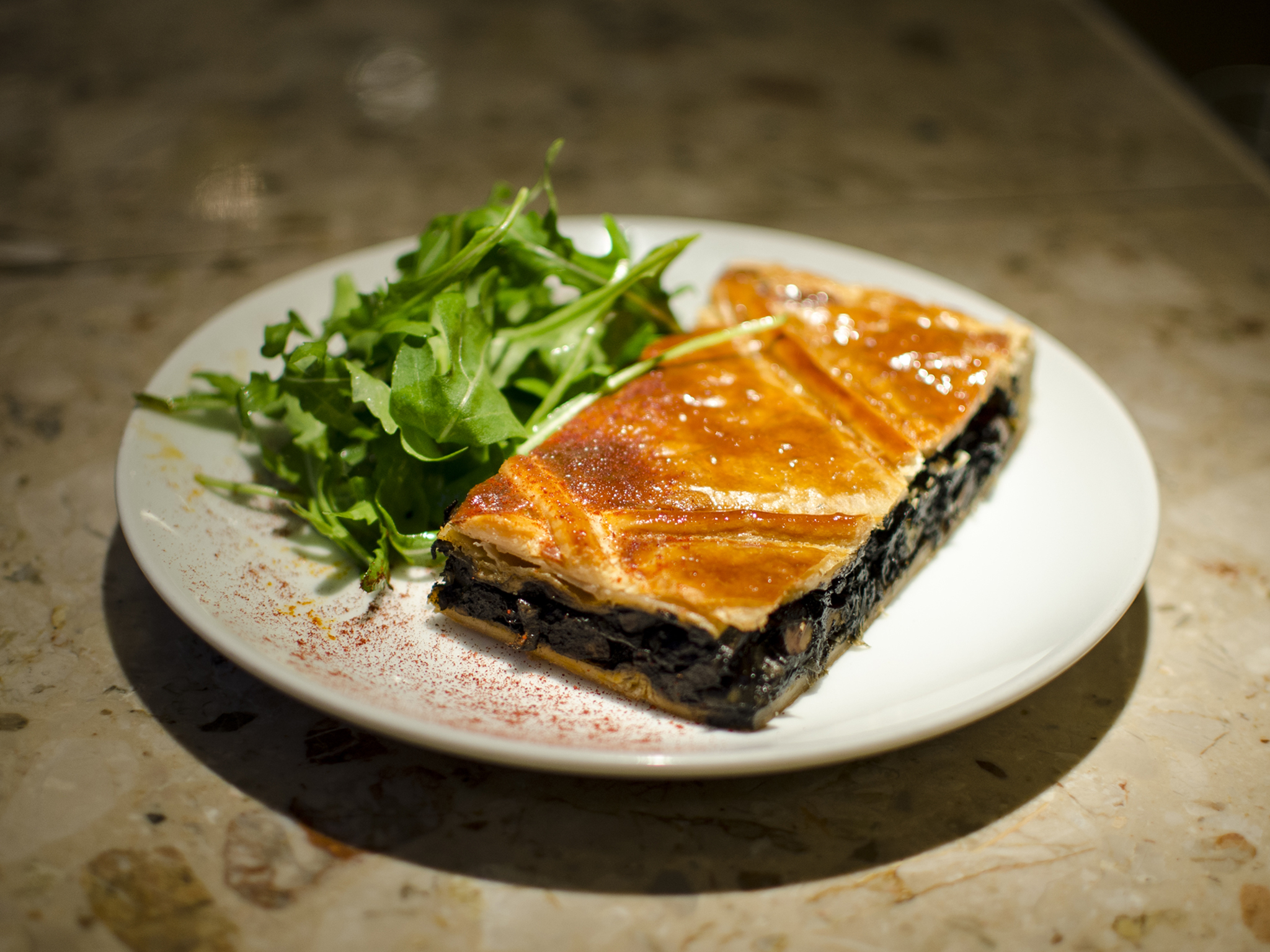 best dishes in london, barrafina, cuttlefish empanada