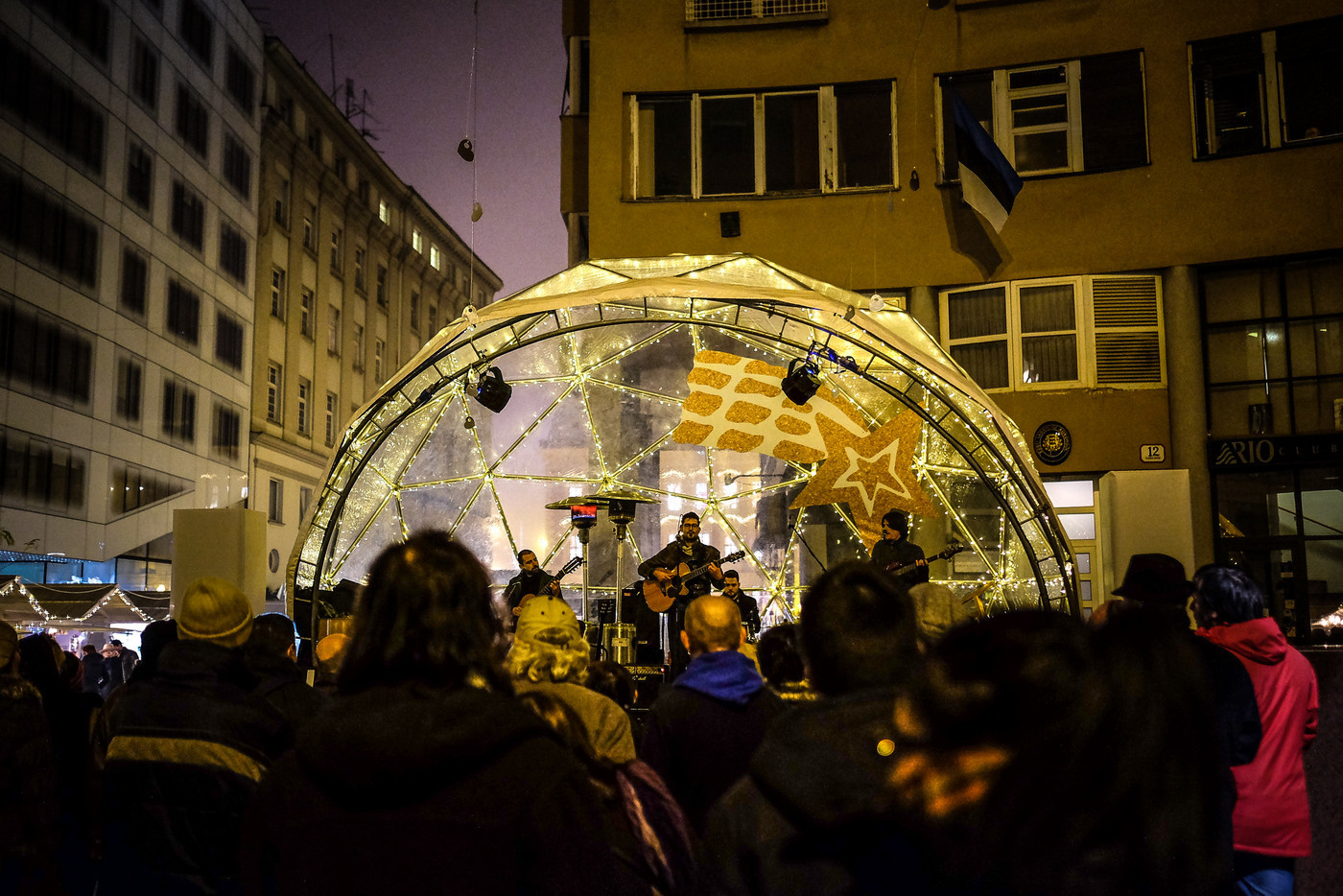 Advent on European Square