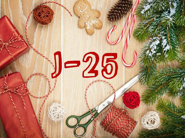 Calendrier de l'Avent – 25 tutos de Noël