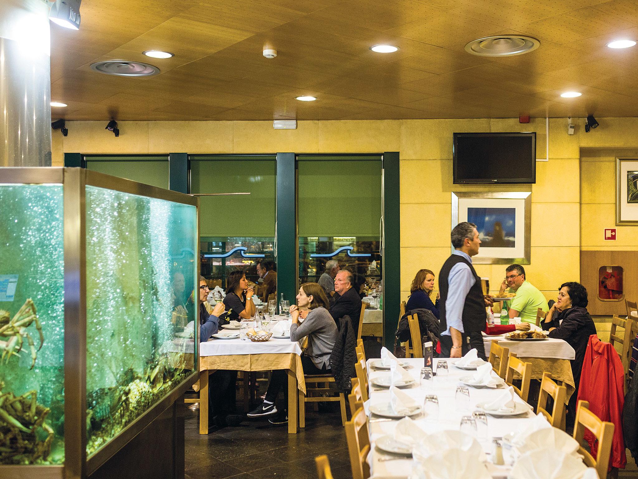 Restaurante Sete Mares - Sala