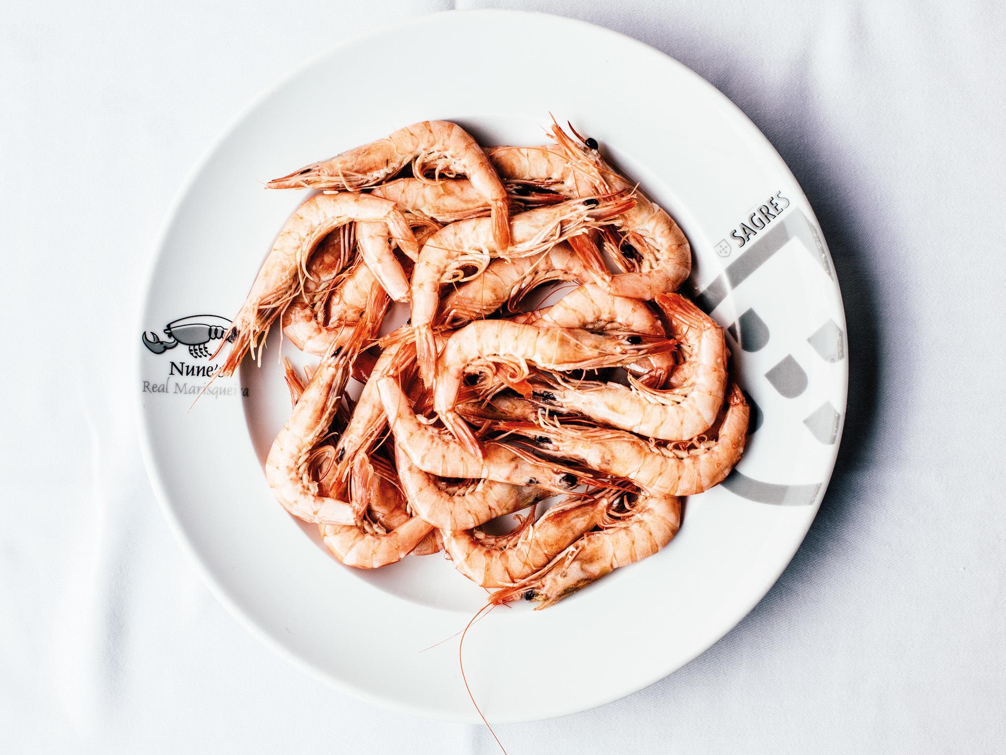 Restaurante Nunes Real Marisqueira - Gambas
