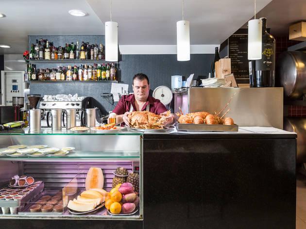 Restaurante, O Relento, Balcão, Marisqueira