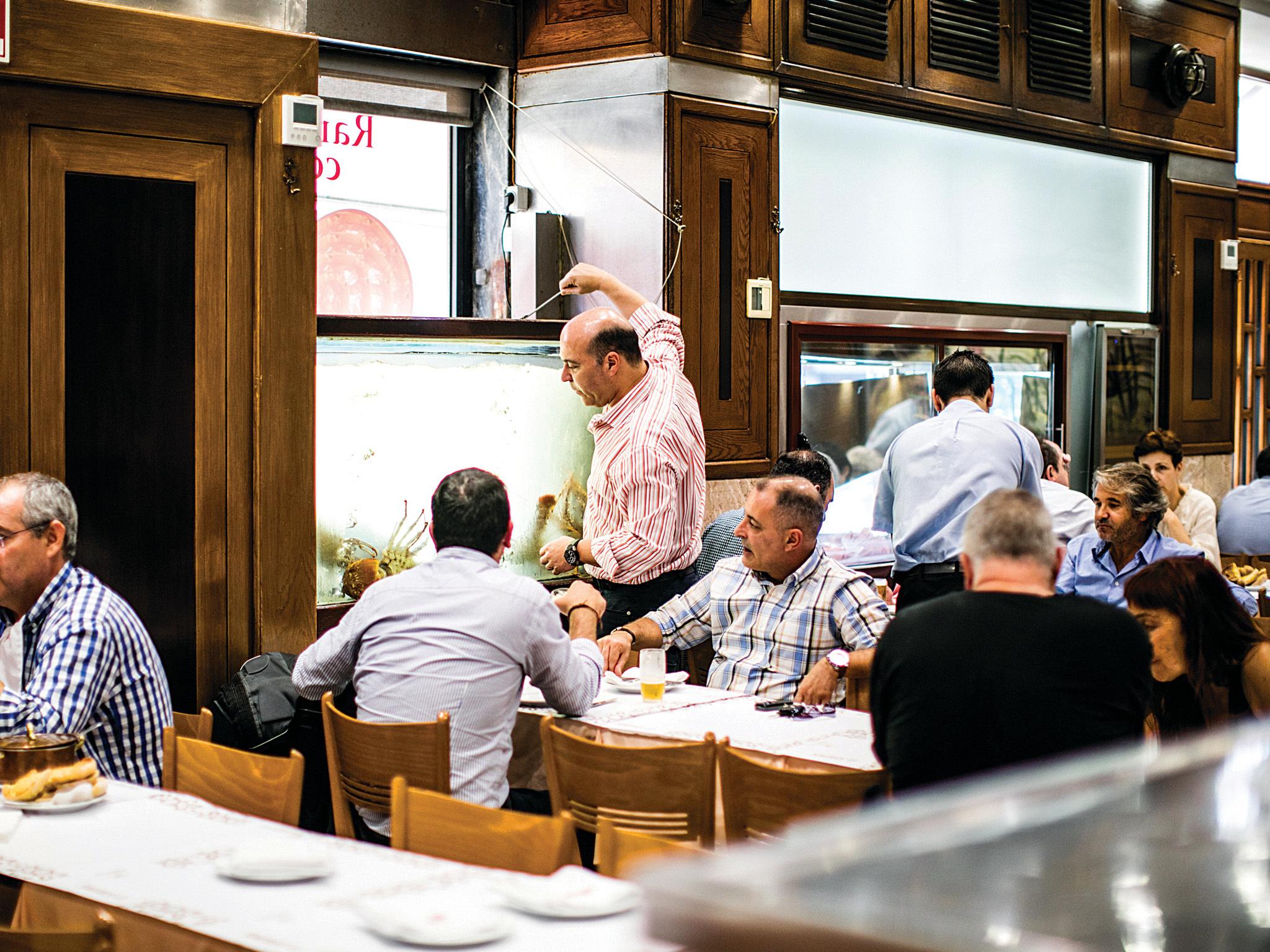 Restaurante Ramiro - Sala