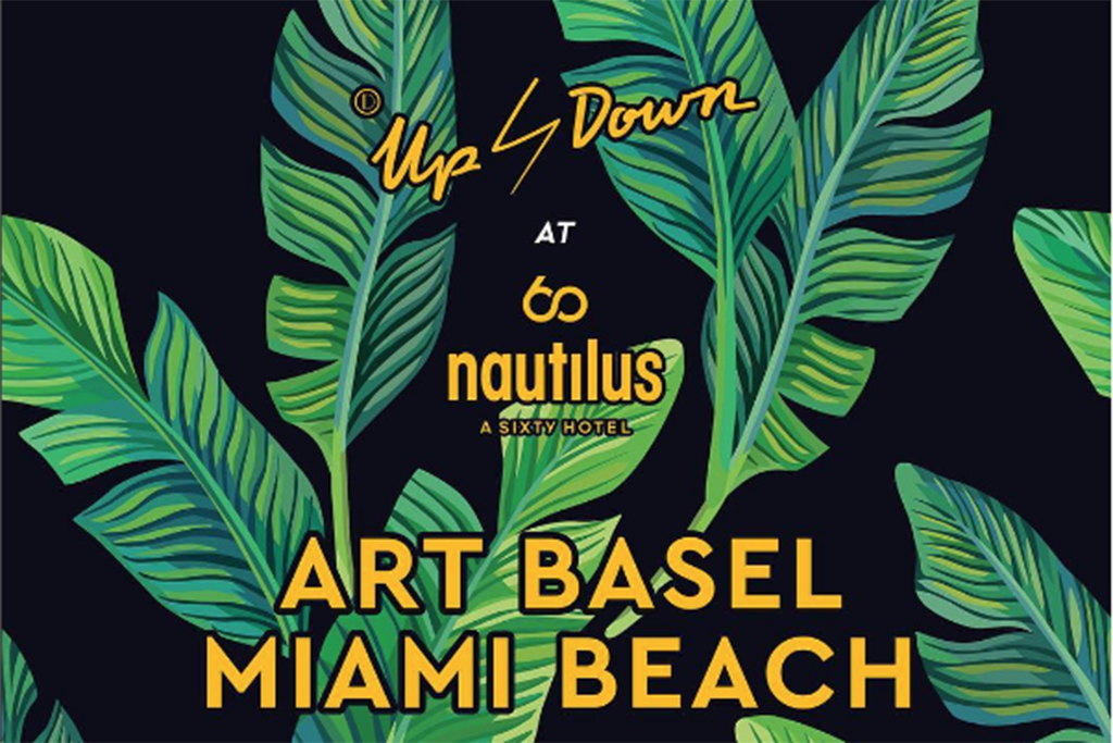 Up&Down Pop Up at Nautilus Cabana Club Beach Tent presented by Absolut Elyx & Perrier-Jouët