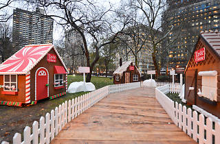 Walk inside a life-size gingerbread house in Mad. Sq. Park next month