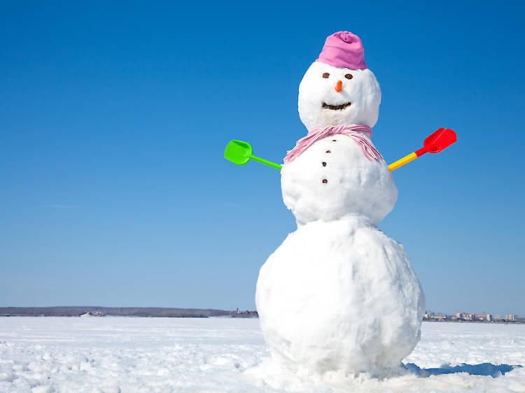 Concurs de ninots de neu