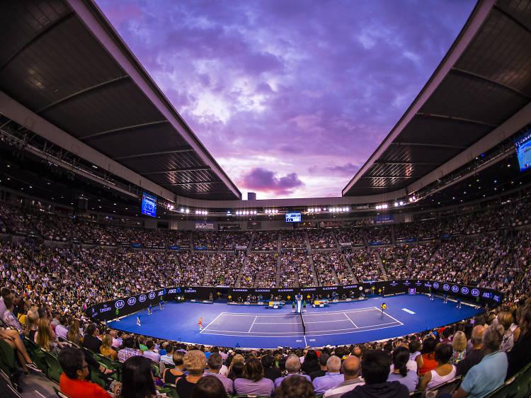 Get a ground pass at the Australian Open