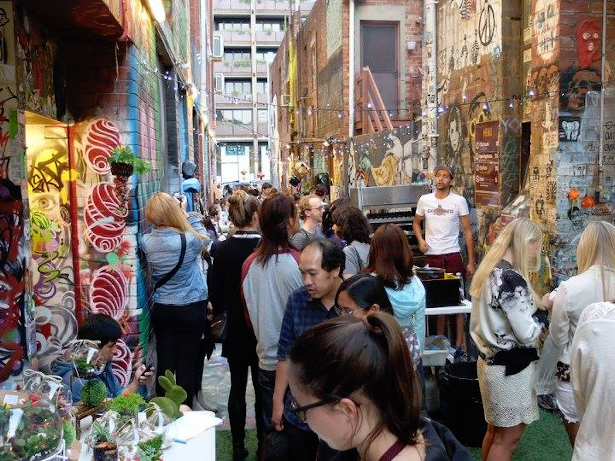 Blender Lane Artists' Market