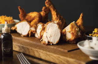 Korean fried chicken at Jinjuu