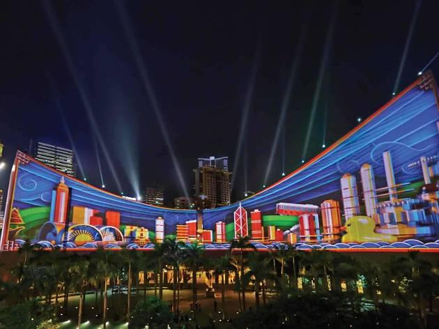 Pulse: Hong Kong's 3D Light Show